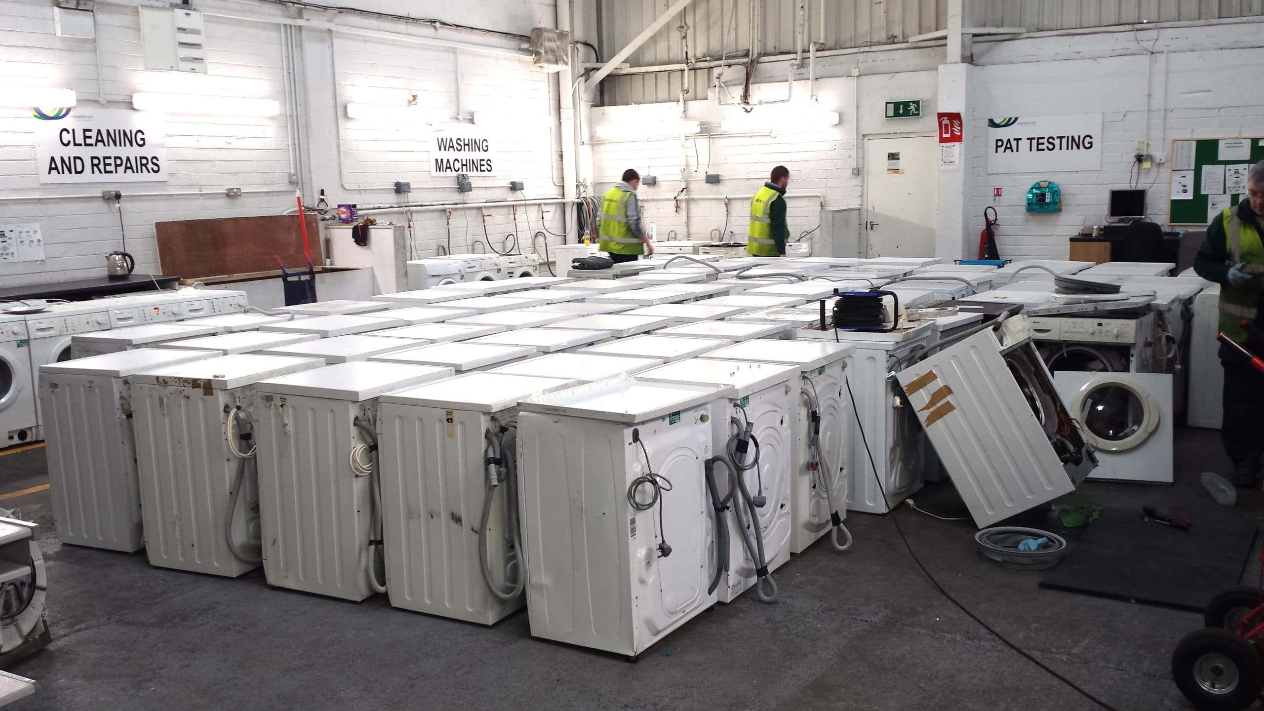 Belgian region sets re-use target for electricals