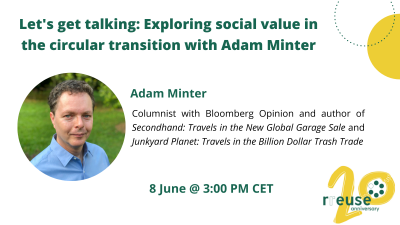 Episode 1 – Let's get talking: Exploring social value in the circular transition with Adam Minter