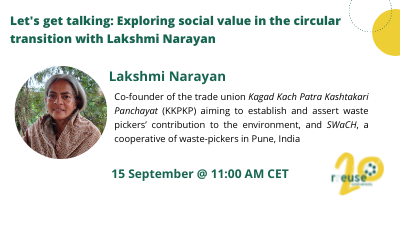 Episode 2 – Let's get talking: Exploring social value in the circular transition, with Lakshmi Narayan