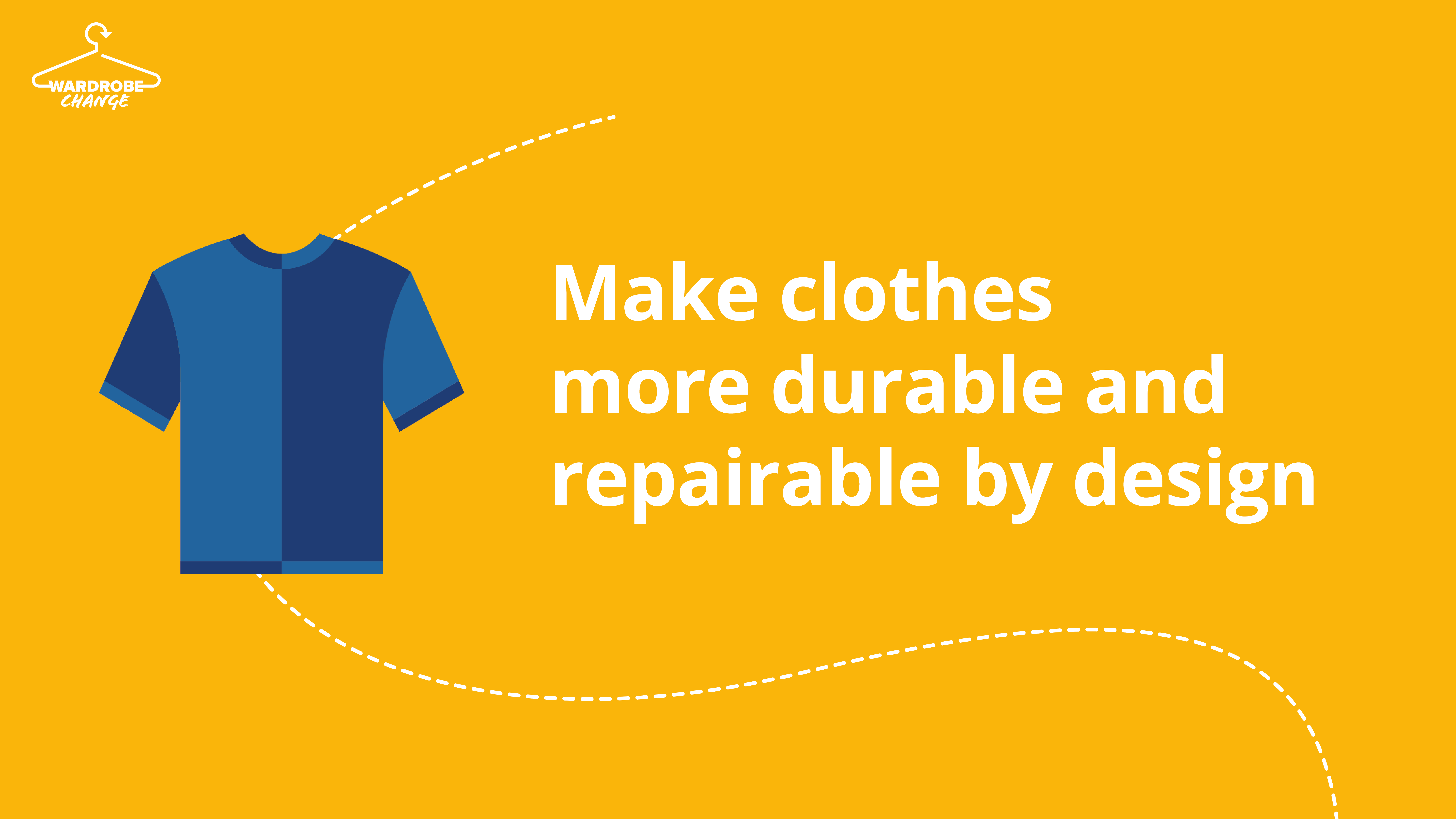 #WardrobeChange recommendations for the EU strategy for sustainable textiles